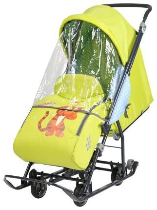 Санки-коляска Ника Disney baby Тигруля DB1, 3