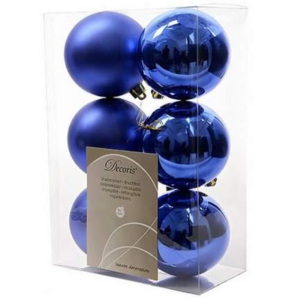Набор шаров на ель Новый год 8 см 906429m 6 шт