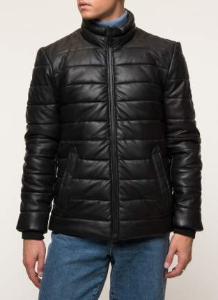 Кожаная куртка мужская Gotthold B2 черная 48 RU