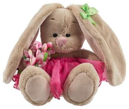 Мягкая игрушка Budi Basa Зайка Ми c букетом в розовой юбке, 15 см