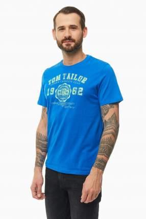 Футболка мужская TOM TAILOR 1008637-20587 синяя XL