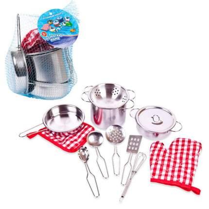 """Набор посуды металлической для кухни """"Помогаю Маме"""", 2 вида"""