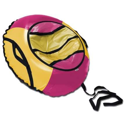 Тюбинг BELON FAMILIA СВ-003-Т1/МАЛИНА Спорт розово-желтый 100см