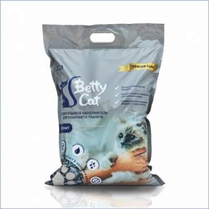 Комкующийся наполнитель для кошек Betty Cat, впитывающий, активированный уголь, 10л