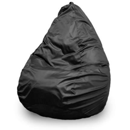 Кресло-мешок ПуффБери Груша Оксфорд XXL, черный
