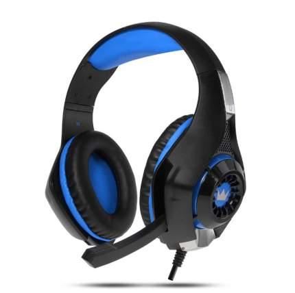 Игровые наушники Crown  CMGH-102T Blue