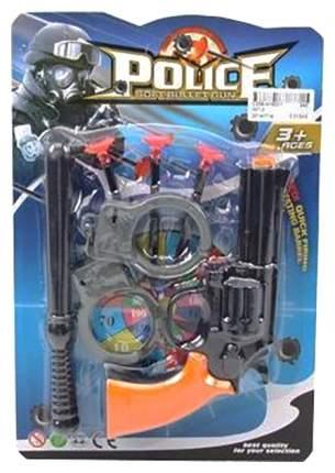 Набор игрушечного оружия с наручниками Police - Soft Bullet Gun