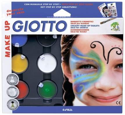 Краски для грима GIOTTO 470100 6 цветов