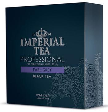 Чай черный среднелистовой Граф Грей Imperial tea professional пакетированный