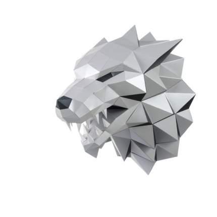 Трофейная голова Paperraz ЛЮТОВОЛК (серый)