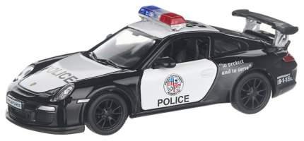 Машина инерционная Kinsmart Porsche 911 GT3 RS Police, масштаб 1:36, открываются двери