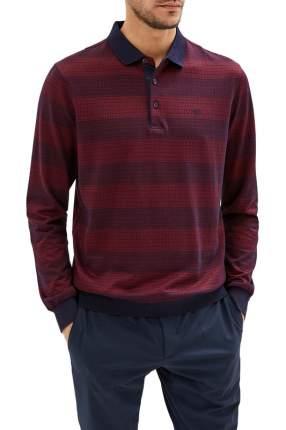 Рубашка мужская La Biali L9231-1/219-10 (БОРДОВая) красная 4XL