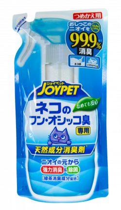 Уничтожитель меток и сильных запахов туалета кошек Japan Premium Pet, сменный блок