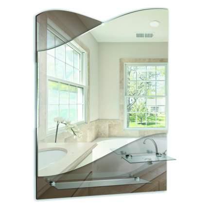"""Зеркало для ванной MIXLINE """"Версаль"""" 495*690 (ШВ) (2 полки)"""