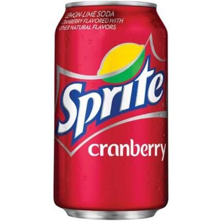 Напиток Sprite cranberry жестяная банка 0.36 л