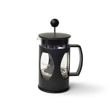 Заварочный чайник Fissman 9002 Черный, прозрачный
