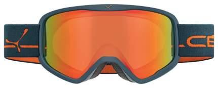 Горнолыжная маска Cebe Striker 2018/2019 темно-синяя/оранжевая L