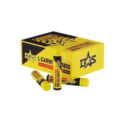 L-Carnitine питьевой Binasport со вкусом апельсина 1800 мг, 24 флакона по 25 мл