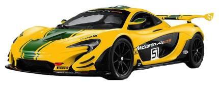 Радиоуправляемая машинка Rastar McLaren P1 GTR желтая 75000Y