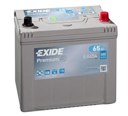 Аккумулятор автомобильный EXIDE EA654 65 Ач