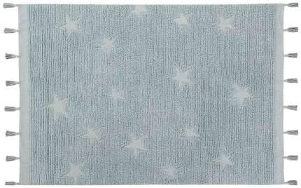 Ковер Lorena Canals Звезды хиппи синие 120*175