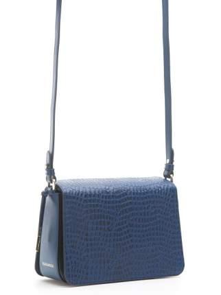Сумка женская кожаная Eleganzza Z4958-4817 синяя