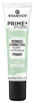 Основа для макияжа Essence Prime+Studio Redness Correcting+Pore Minimizing Primer 30 мл