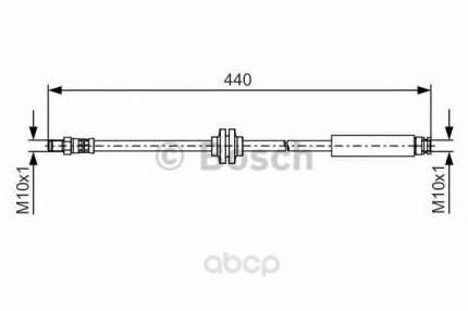 Тормозной шланг Bosch 1987481484