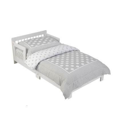 Классическая кровать KidKraft для детей цвет белый