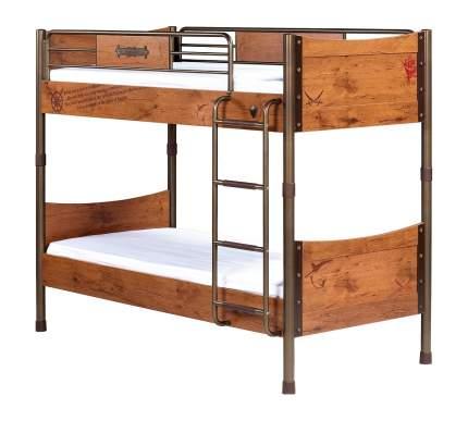 Кровать двухъярусная Cilek 90х200 Pirate