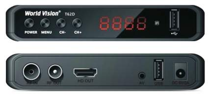 DVB-T2 приставка World Vision T62D black