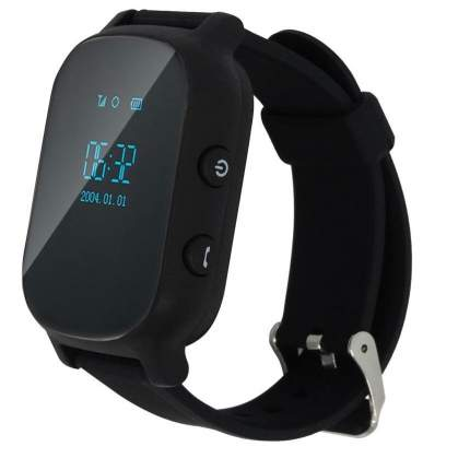 Детские смарт-часы Smart Baby Watch T58 Black/Black