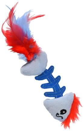 Игрушка для кошек Petstages Fish Bone голубая 90022