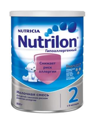 Молочная смесь Nutrilon Гипоаллергенный 2 от 6 до 12 мес. 800 г