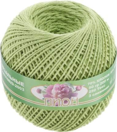 """Нитки для вязания """"Пион"""" (70%хлопок+30%вискоза) 6х50гр/200м цв,2301"""