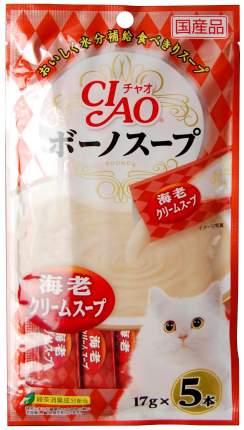 Лакомство для кошек Premium Pet Japan крем-суп из креветок 0,85 г SC-114