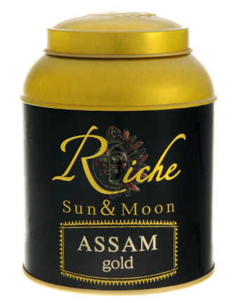 Чай Riche Nature ассам голд  индийский крупнолистовой 100 г
