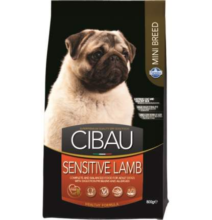Сухой корм для собак Farmina Cibau Mini Sensitive, для мелких пород, ягненок, 2,5кг