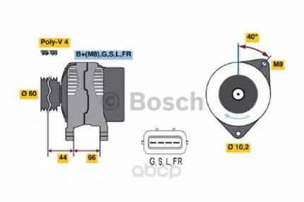 Генератор Bosch 0986045581