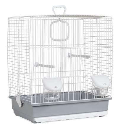 Клетка для птиц Voltrega (641) цвет белый/серый
