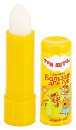 Детский бальзам для губ Три Кота Gk-113/3 Яблочный с оливковым маслом