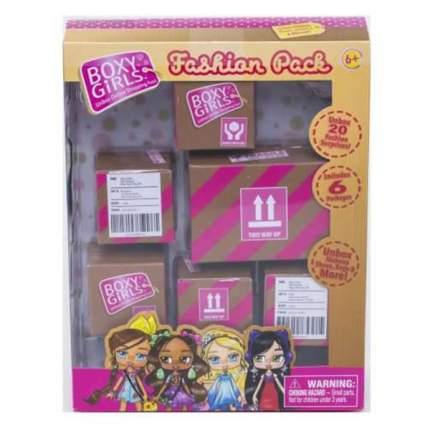 Boxy Girls набор из 6-ти коробочек с аксессуарами