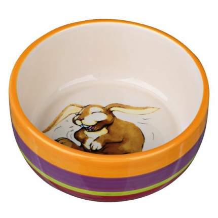 Одинарная миска для грызунов TRIXIE, керамика, в ассортименте, 0.08 л
