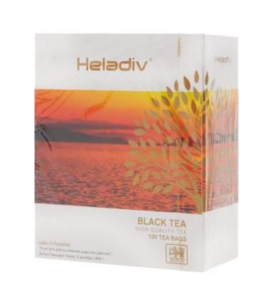 Чай Heladiv HQ black tea 100 пакетиков