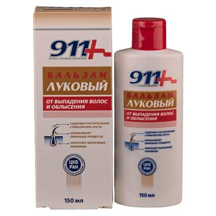 Шампунь для волос 911 луковый от выпадения волос и облысения 150 мл