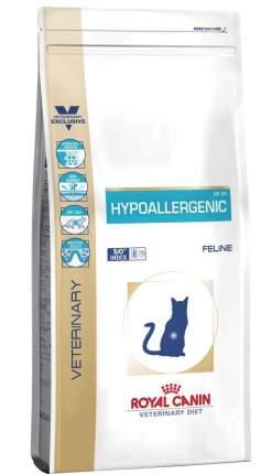 Сухой корм для кошек ROYAL CANIN Hypoallergenic, при пищевой непереносимости, 2,5кг
