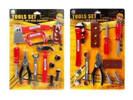 Набор игрушечных инструментов Наша Игрушка 11 предметов 918