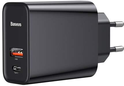 Сетевое зарядное устройство Baseus Speed PPS Type-C 3A Black