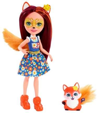 Кукла Enchantimals Mattel Enchantimals с питомцем Лисичка Фелисити