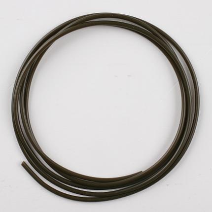 Трубка Mikado ПВХ 1 х 2,1 мм, серо-зеленая